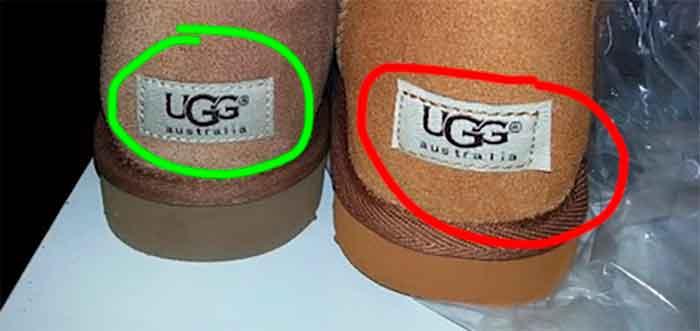 Identificar botas Ugg originales de imitaciones