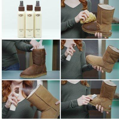 Kit para limpiar botas koolaburra auténticas